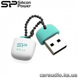 Silicon Power Jewel J07 8 GB Blue (SP008GBUF3J07V1B)  фото