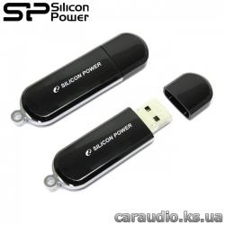 Silicon Power LuxMini 322 8GB Black (SP008GBUF2322V1K) фото