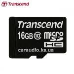 Transcend 16 GB microSDHC class 10