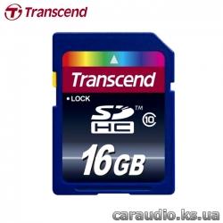 Transcend 16 GB SDHC class 10 фото