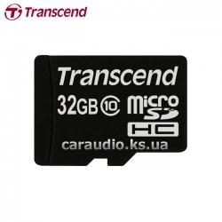 Transcend 32 GB microSDHC class 10 фото