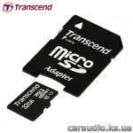 Transcend 32 GB microSDHC UHS-I Premium + SD Adapter