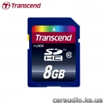 Transcend 8 GB SDHC class 10