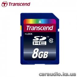 Transcend 8 GB SDHC class 10 фото