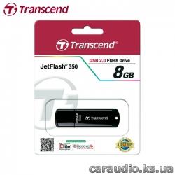 Transcend JetFlash 350 8GB (TS8GJF350) фото