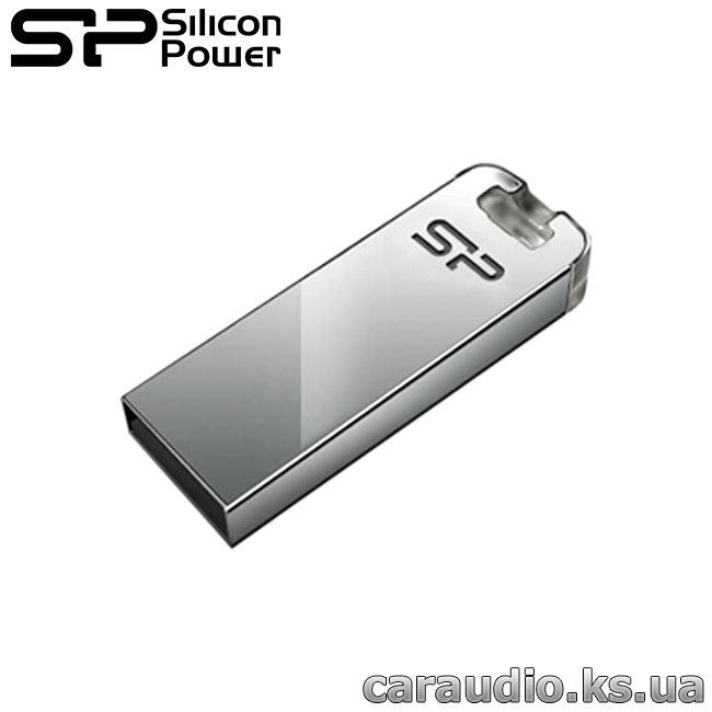 Флеш-память Silicon Power   Touch T03 8GB Transparent (SP008GBUF2T03V3F) | Автозвук