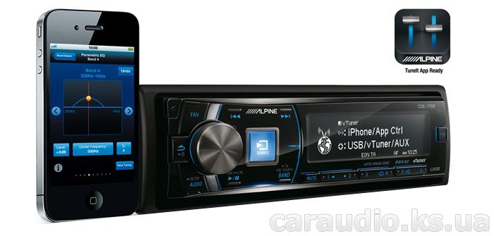 iPhone Alpine CDE-175R интернет-радио