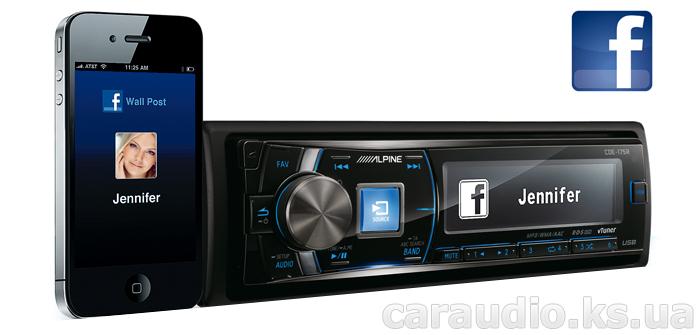 купить iPhone Alpine CDE-175R Facebook
